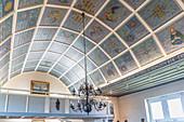 Interior of the Friesenkapelle in Wenningstedt, Sylt, Schleswig-Holstein, Germany