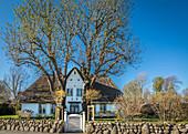 Altes Kapitänshaus in Keitum, Sylt, Schleswig-Holstein, Deutschland