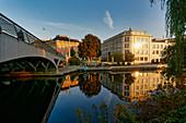 Old drive of the Havel, Humboldtstrasse building, City Palace, Potsdam, State of Brandenburg, Germany