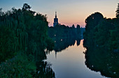 New journey of the Havel, Heilig Geist Stift, in the morning, Potsdam, Land Brandenburg, Germany