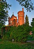 Water tower, Hermannswerder, Potsdam, State of Brandenburg, Germany