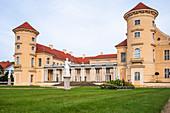 Schloss Rheinsberg Hof, Rheinsberg, Brandenburg, Germany