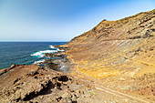 "Rough coast of ""La Isleta"" - peninsula north of Las Palmas, Gran Canaria, Spain"
