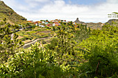 "View of ""Las Carboneras"" - a small place and starting point for a hike in the Anaga Mountains, Tenerife, Spain"