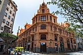 Gebäude im Zentrum von Santa Cruz de Tenerife, Teneriffa, Spanien