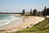 Main Beach in Yamba in New South Wales, Australia.