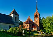 Churches in Golm, Potsdam, Brandenburg State, Germany