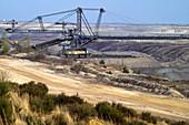 Opencast mining landscape in Fürst-Pücklerland IBA Welzow