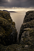 Midnight Sun in North Cape, Norway, Europe