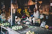 East Africa, Tanzania, Zanzibar, Stone Town fruit market