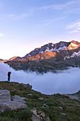Colle del Nivolet, Gran Paradiso National Park, Ceresole Reale village, Torino district, Piedmont, Italy