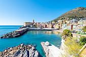 Nervi s marina, Nervi, Genoa, Liguria, Italy