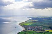 Luftbild von Kellenhusen, Ostsee, Ostholstein, Schleswig-Holstein, Deutschland