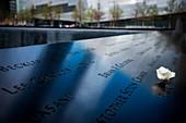 National September 11 Memorial, New York City, Manhattan, USA, North America