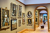 United Kingdom, London, Westminster, Trafalgar Square, the National Gallery opened in 1824, picture gallery of the 18th century