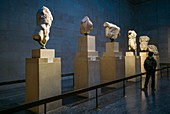 England, London, Bloomsbury, The British Museum, The Parthenon Sculptures also know as The Elgin Marbles