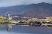 Scotland, Sutherland, Northwest Highlands, Lairg, Ardvreck Castle