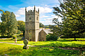 United Kingdom, Cornwall, victorian house and french gardens of Lanhydrock
