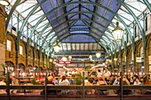 United Kingdom, London, Covent market piazza