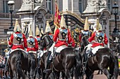 United Kingdom, London, Buckingham palace, the changing of the Guard