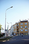 Strasse in Bratislava, Slowakei