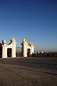 Gate of Bratislava Castle, Bratislava, Slovakia.
