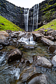 The highest waterfall in the Faroe Islands is located on the main island of Streymoy and is called Fossá.