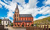 Liebfrauenkirche in Oberwesel am Rhein, Rheinland-Pfalz, Deutschland