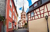 Evangelische Kirchengemeinde Vierthäler in Bacharach am Rhein, Rheinland-Pfalz, Deutschland