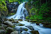 At the Gollinger waterfall, Golling, Austria