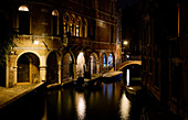 Nacht in Venedig, Venetien, Italien