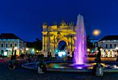 Brandenburg Gate, Luisenplatz, Potsdam, State of Brandenburg, Germany