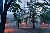 Weberplatz, Weber Church, Babelsberg, Potsdam, Brandenburg State, Germany