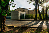 Gedaenkstaette Leistikowstrasse, former KGB prison, Potsdam, State of Brandenburg, Germany