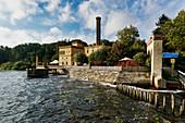 Jungfernsee, Havel, brewery, Neuer Garten, Potsdam, State of Brandenburg, Germany