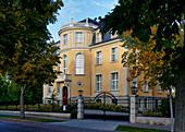 Villa Kellermann, Günter Jauch runs a gourmet restaurant, Potsdam, State of Brandenburg, Germany