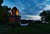 Gotische Bibliothek, Heiliger See, Mamorpalais, Neuer Garten, Potsdam, Land Brandenburg, Deutschland