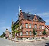 Town hall of the town of Plau am See, Mecklenburg-Western Pomerania, Germany