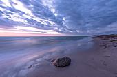 Morgenstimmung am Strand von Rosenfelde, Ostsee, Ostholstein, Schleswig-Holstein, Deutschland