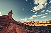 Valley of the Gods, Utah, Arizona, USA, North America, America