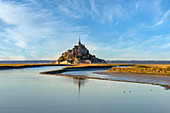 September day at Mont St. Michel, Manche department, France