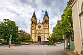 Die Erlöserkirche von Bad Kissingen, Bayern, Deutschland