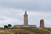 Old and new lighthouse at Cap Frehel, Brittany, France