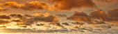 Clouds, sky, weather, sunset