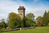 Sponeck Castle, Jechtingen, Sasbach, Kaiserstuhl, Baden-Württemberg, Germany