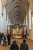 Isenheim Altarpiece, by Matthias Grünewald, Museum Unterlinden, Musee Unterlinden, Colmar, Alsace, France