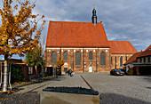 Kulturquartier Moenchenkloster, Jueterbog, Flaeming, State of Brandenburg, Germany