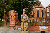 Archbishop Wichmanns, Church of Our Lady, Jueterbog, Flaeming, State of Brandenburg, Germany