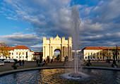Luisenplatz, Brandenburg Gate, Potsdam, State of Brandenburg, Germany