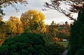 Friendship Island, view to the old Landtag Brandenburg, Potsdam, Land Brandenburg, Germany